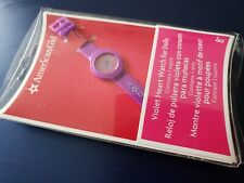 American Girl Doll Violet Heart Watch