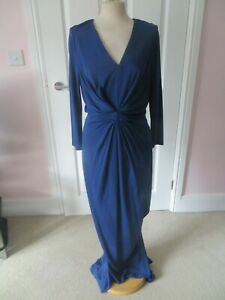ISSA BLUE KATE FULL LENGTH CAITLIN MAXI DRESS SIZE 14 NEW WITH TAG