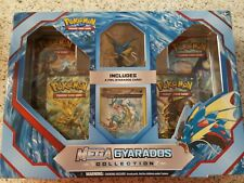 Mega Gyarados Collection Box Pokemon Booster pack Trading Cards Game  NEW.