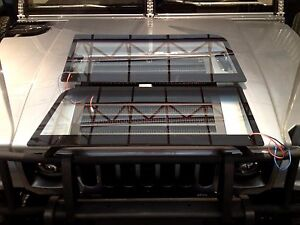 2xNEW WINDSHIELDS HEATED HUMMER H1,AM GENERAL