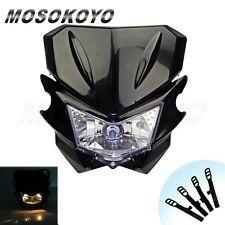 Universal Motorcycle HeadLight  Head Lamp Dual Sport For YAMAHA Street Fighter