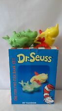 Dr. Seuss Vandor 2001 One Fish Two Fish Bank Mib #G461.