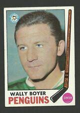 Wally Boyer Pittsburgh Penguins 1969-70 Topps Hockey Card #118 EX
