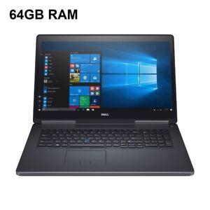 Dell Precision 7710 Core i7-6820HQ/ 64GB Ram 512GB SSD+ 500GB/ 17.3in FHD nVidia