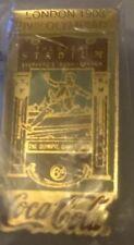 IV OLYMPIC GAMES LONDON 1908 COCA COLA ORIGINAL PIN BADGE (1990 Series)