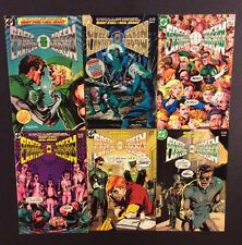 GREEN LANTERN GREEN ARROW #1 - 6 Comic Books DC 1983 Neal Adams Drug Issues VF