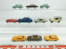 bk89-0,5 #11X Wiking H0 / 1:87 Car: BMW 328+ Ford Capri + DKW F89 + Volvo etc. ,