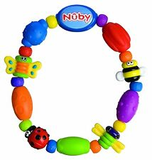 Nuby Bug A Loop Teether Bead, Colors May Vary, Brand New