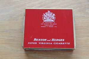 Benson and Hedges Super Virginia Cigarette Tin