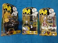 Jeff Smith's Bone set of 10 Action Figures - ReSaurus - Fone, Smiley, Phoney