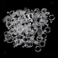 100 Stücke 5mm Pellet Bait Bander Köderbänder für Karpfenangeln aus Gummi