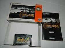 Golden Sun  (Nintendo Game Boy Advance) GBA Japan **COMPLETE IN BOX**