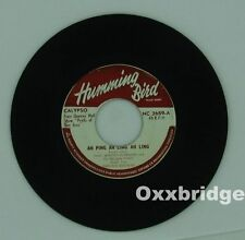 RARE CALYPSO SKA Winston Roxburgh FABULOUS WINDS Reggae Carlilse Eversley VINYL