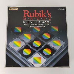 Rubiks Magic Strategy Game Matchbox Vintage Complete