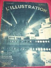 L'ILLUSTRATION  1931 20 pages sur L'EXPOSITION COLONIALE