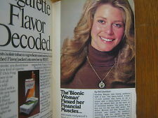 May 8, 1976 TV Guide  (LINDSAY  WAGNER/THE BIONIC  WOMAN/TOM  SNYDER/STAR  TREK)