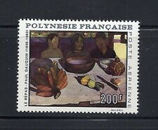 FRENCH POLYNESIA 1968 GAUGIN (THE MEAL) VF MNH