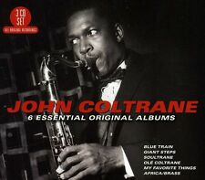 6 Essential Original Albums - 3 DISC SET - John Coltrane (2012, CD NEUF)