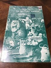 The Peaceable Kingdom 1936 !WOW! Songbook Sheet Music U2 Antique
