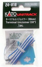 """Kato 24-818 HO/N Gauge UniTrak Terminal Joiners with 35"""" Wire Leads"""