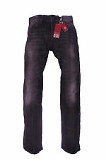 Tommy Hilfiger Denim Jeans Hose Rogar Regular Grau Schwarz Herren W30 L34