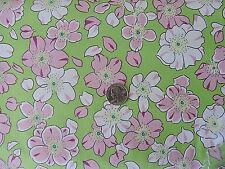 "100% Cotton Fabric - FreeSpirit - ""Floating World""  Blossoms  By The Yard"