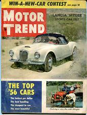 Motor Trend Magazine August 1956 Lancia Spyder Sports Car Test 122115jhe