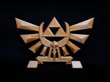 """5"""" Legend of Zelda Hyrule Crest Logo Stand - FREE SHIPPING!"""