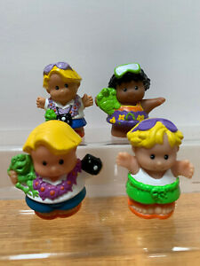 FISHER PRICE LITTLE PEOPLE FIGURES - VACATIONERS / TRAVELERS