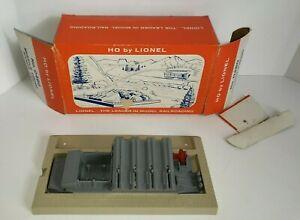 Vintage LIONEL HO 0480 Missile Firing Range Set BASE & BOX only
