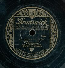 78tk-América Brunswick 6091-Carlos Molina Orquesta de Tango