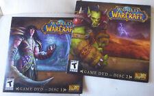 World Of Warcraft GAME DVD DISC 1,2