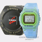 Authentic Casio G-Shock Resin Band Transparent Blue Watch DW5600LS-2