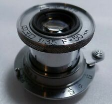 Industar-10 Russian collapsible 3.5/50mm lens of FED Leica M39 mount camera 2373