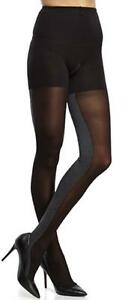 SPANX Heathered Contrast Tight-End Tights Women's Size B