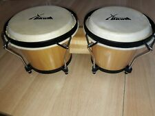 X Drum Bongo (Holzbongo/Naturfelle),kaum benutzt