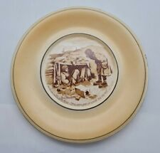 More details for grimwades ww1 bruce bairnsfather plate - out since mons - rare