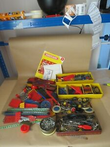 Vintage Meccano Very Large Amount Off Parts And Accessories