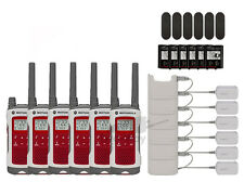 Motorola T480 FRS/GMRS Two Way Radio Walkie Talkies 22 Channels 6-PACK