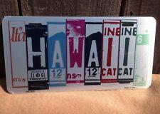 Hawaii License Plate Art Wholesale Novelty Bar Wall Decor