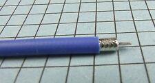 "RG-402 0.141"" Blue RF Semi-rigid Coaxial Cable / Hardline : Priced per Foot"