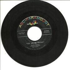 "Paul Anka-You Are My Destiny/When I Stop Loving You-45RPM-7""-Single-Pop-VG+-ABC"