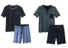 Herren Shorty Schlafanzug Pyjama Nachtwäsche Short + Shirt kurz M L XL XXL *PLT
