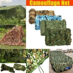 4x6m Military Camouflage Jagd Tarnnetz Armee Army Tarnung Camo Hunter Army Net