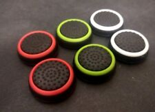 6X Silicone Colour PlayStation 4 Switch Xbox Thumbstick Grips Cover Caps Analog