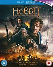 The Hobbit: The Battle of the Five Armies [Blu-ray] [2015] [Regio... - DVD  4AVG