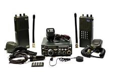 ICOM 11 PIECE SET ICOM IC-25A, IC-3AT, IC-2A, IC-BP3, IC-BP4, MICS, AND MORE