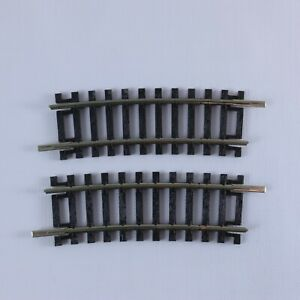 2 x PECO ST 227 No.2 Radius Half Curve Rail Track 10cm Pieces 00/H0   NEW