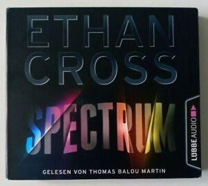 "Hörbuch / Hörbücher "" Spectrum "" Ethan Cross   6 CD"