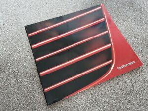 Ferrari Testarossa Large Format Brochure 1985 English/Italian/German/French Text